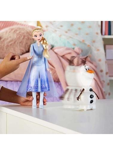 Hasbro  2 Konuşan Olaf ve Elsa E5508 Renkli